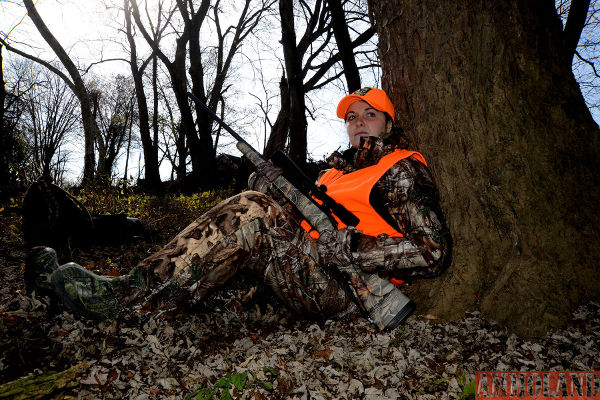 Danielle Miller, of Mifflin in Juniata County, grew up in a hunting family and always loved the outdoors, then got her first hunting license at age 22. Females continue to join the Pennsylvania's hunter ranks in record numbers, with 96,555 females buying licenses or permits in 2015-16.